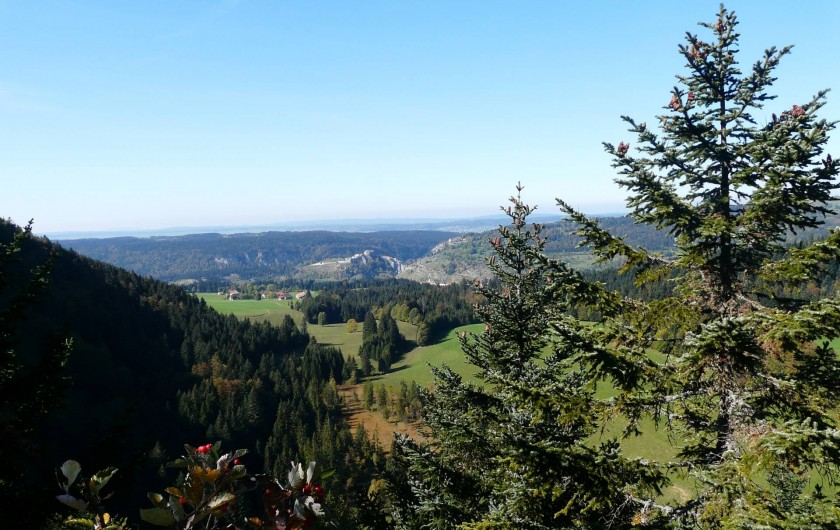 Location de vacances - Appartement à La Cluse-et-Mijoux - Belvédère au dessus de La Cluse et Mijoux