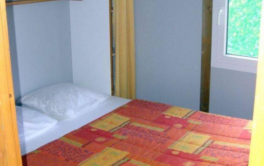 Location de vacances - Chalet à Miallet - Chambre 1