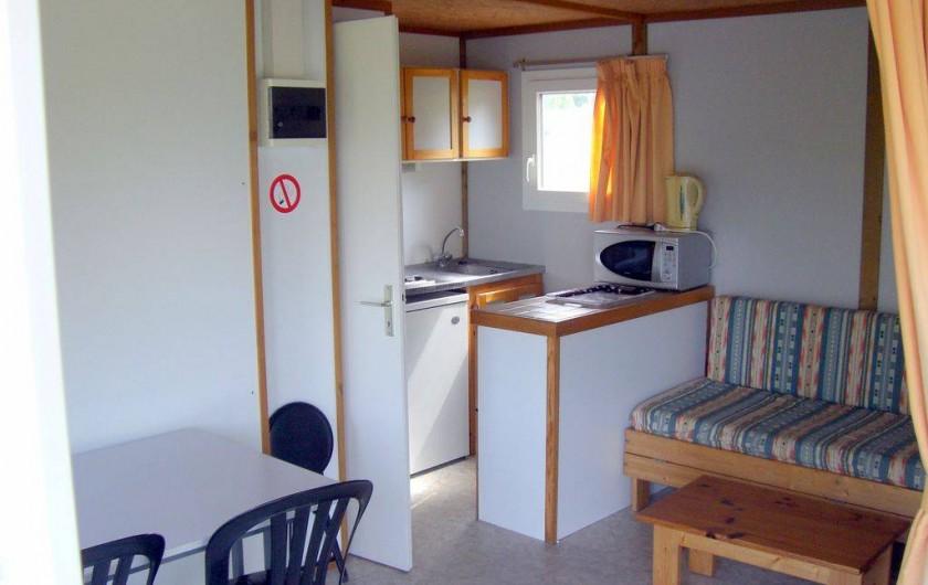 Location de vacances - Chalet à Miallet - La pièce de vie