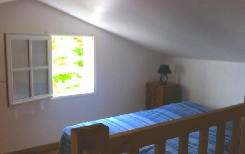 Location de vacances - Maison - Villa à Île-d'Aix - mezzanine chambre 2