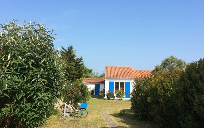 Location de vacances - Maison - Villa à Île-d'Aix - entrée jardin sud