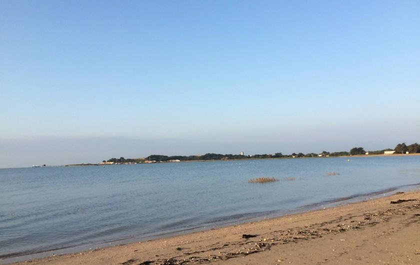 Location de vacances - Maison - Villa à Île-d'Aix - plage  à 50 mètres