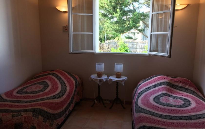 Location de vacances - Maison - Villa à Île-d'Aix - chambre 2 avec mezzanine