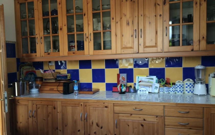 Location de vacances - Maison - Villa à Île-d'Aix - cuisine indépendante