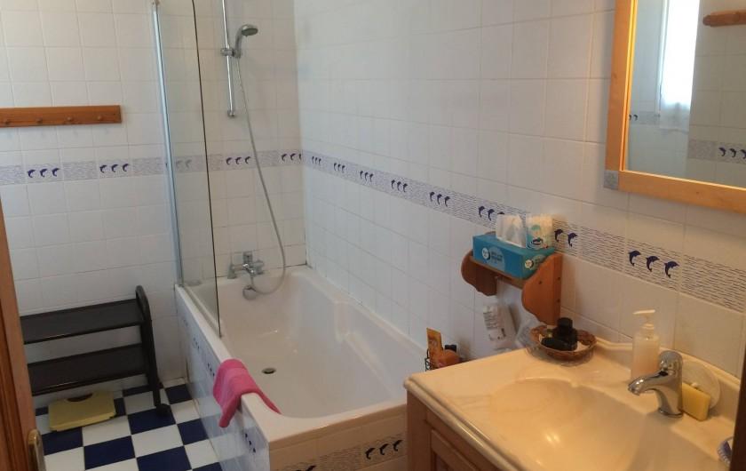 Location de vacances - Maison - Villa à Île-d'Aix - salle de bains wc