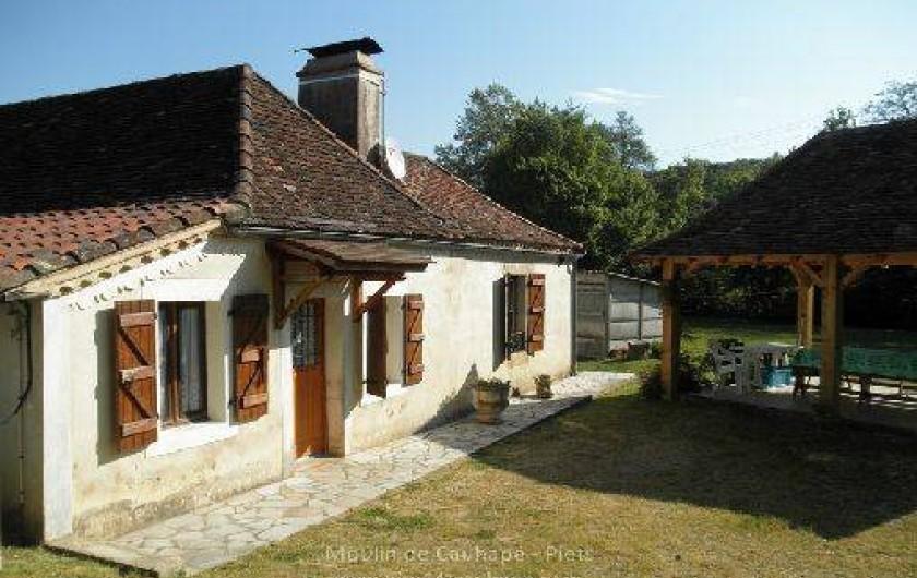 Location de vacances - Gîte à Piets-Plasence-Moustrou - Devant du gîte
