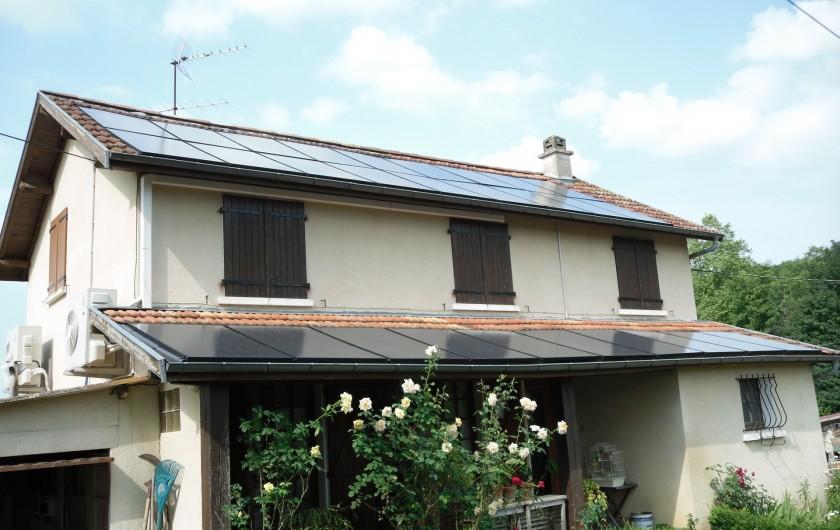 Location de vacances - Gîte à Piets-Plasence-Moustrou - Ma maison avant d'arrivée au gîte