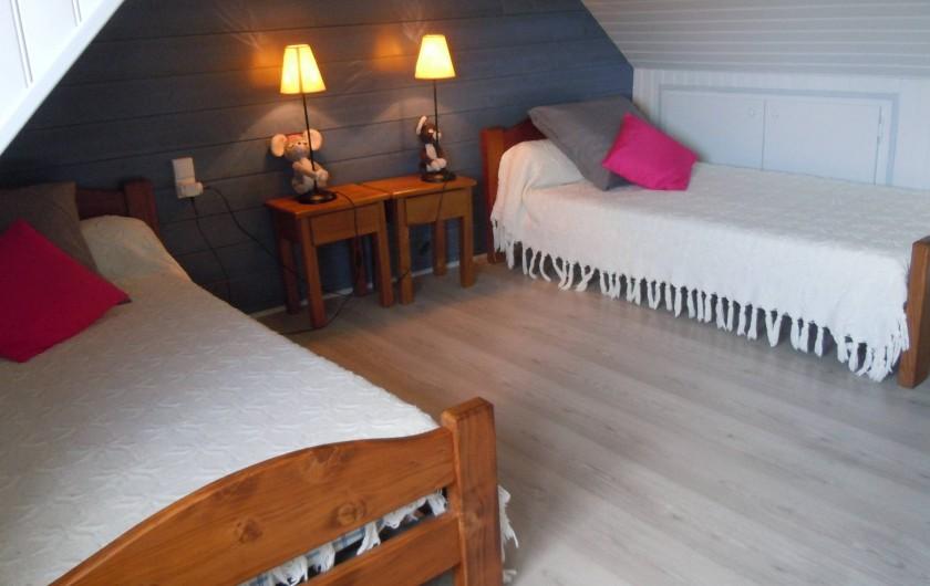 Location de vacances - Gîte à Trédrez-Locquémeau - Chambre enfants