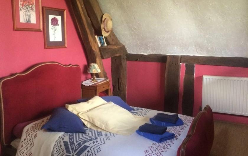 Location de vacances - Chambre d'hôtes à Heurtevent - Lit double