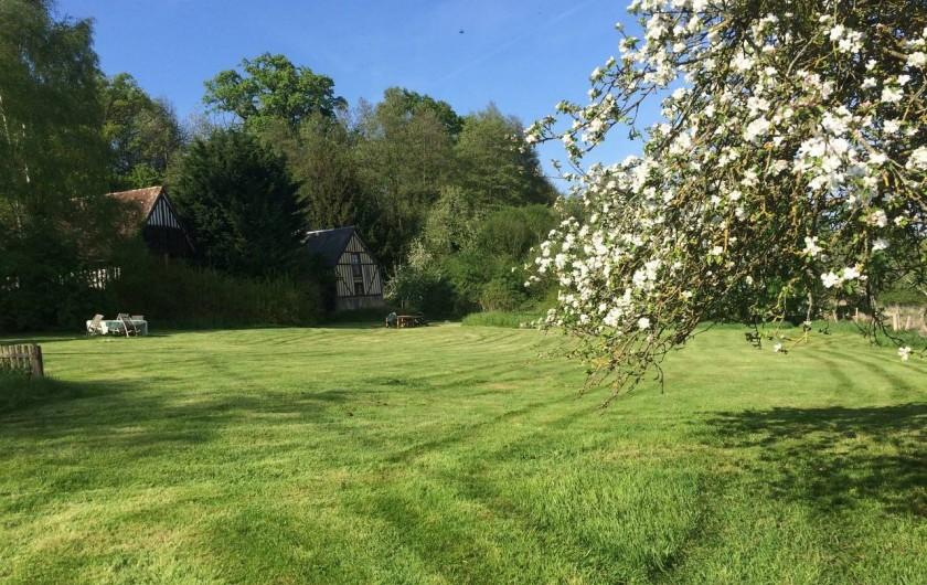 Location de vacances - Chambre d'hôtes à Heurtevent - Grand pelouses