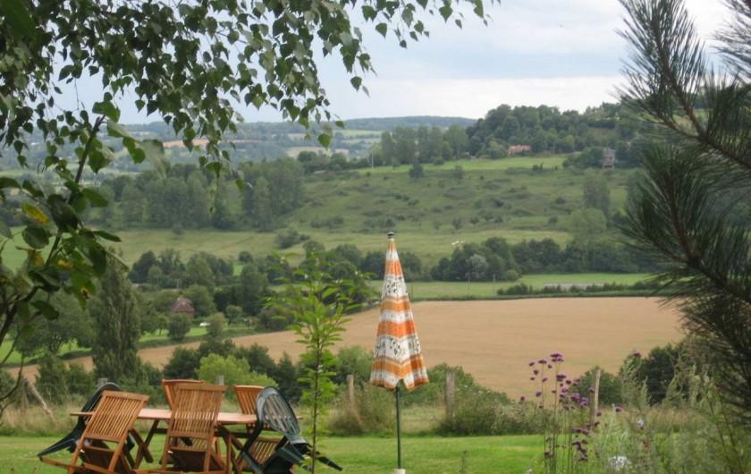 Location de vacances - Chambre d'hôtes à Heurtevent - Valley Vue ( Sud / 180 ')