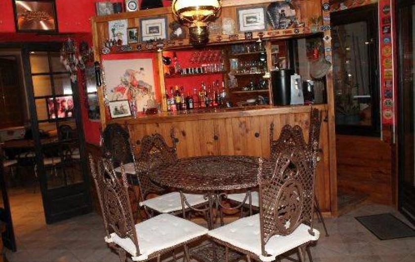 Location de vacances - Chambre d'hôtes à Chavagnes-en-Paillers - notre bar