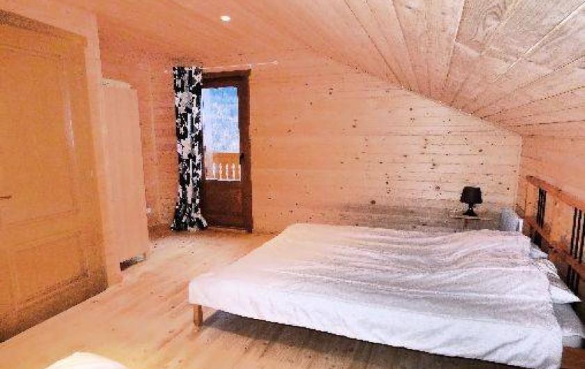 Location de vacances - Chalet à Les Orres - chambre du bousquatier et pastre identique