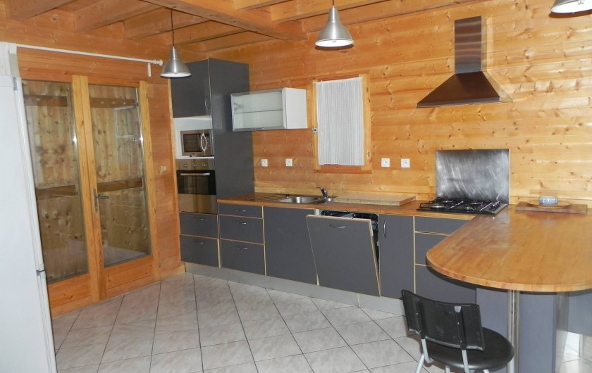 Location de vacances - Chalet à Les Orres - cuisine du melezet