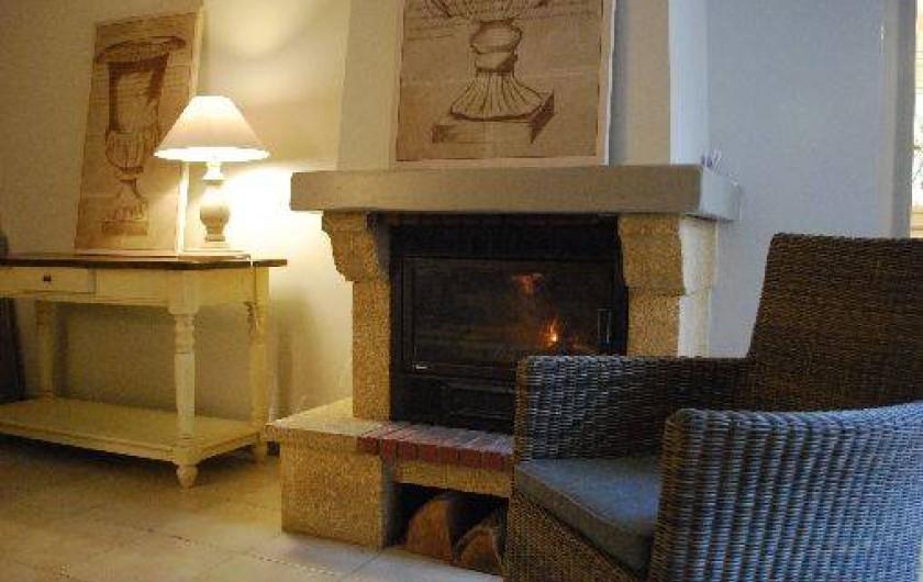 Location de vacances - Gîte à Sarlat-la-Canéda - la cheminée du gite