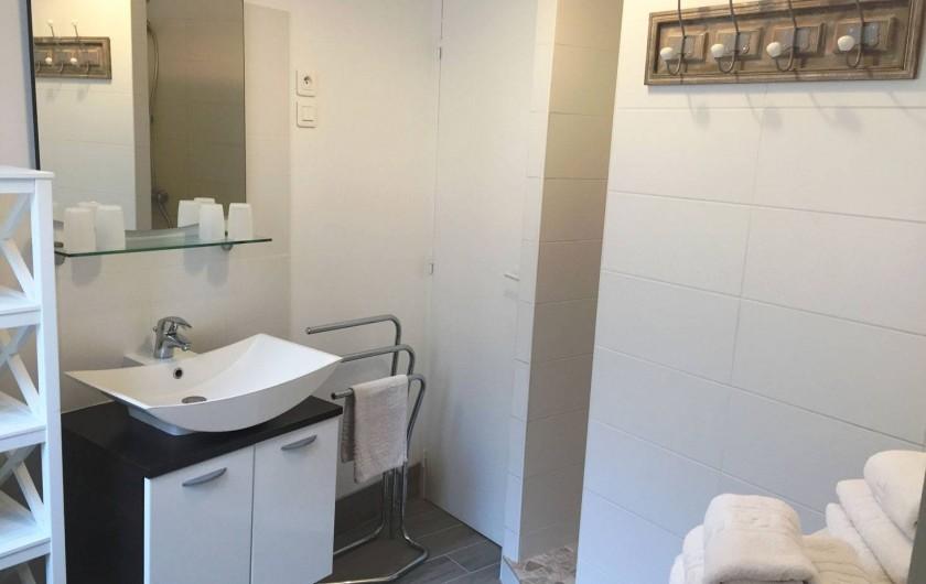 Location de vacances - Gîte à Sarlat-la-Canéda - La salle de bains du gite à sarlat