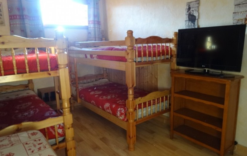 Location de vacances - Appartement à La Toussuire - seconde chambre