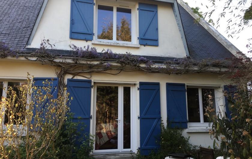 Location de vacances - Maison - Villa à Le Croisic - façade coté jardin
