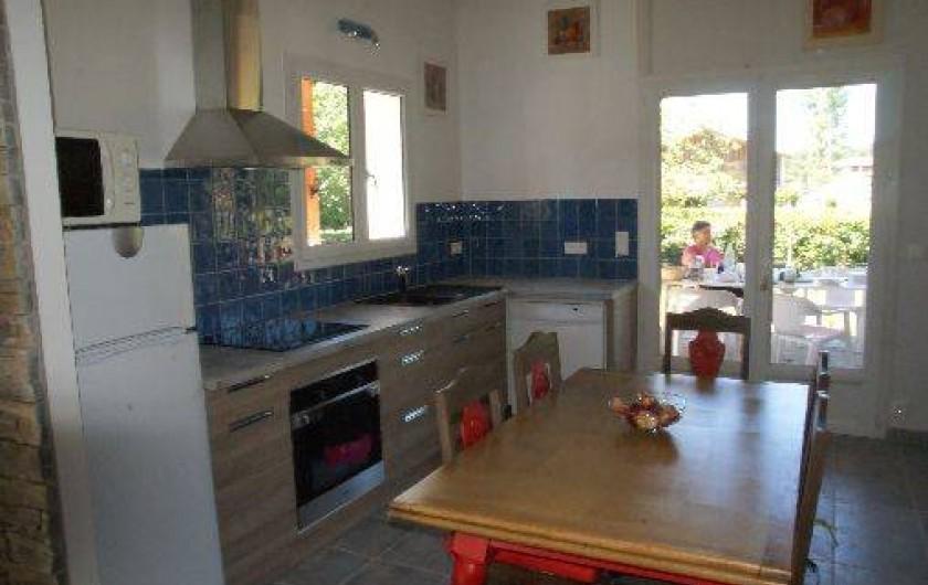 Location de vacances - Villa à Lit-et-Mixe