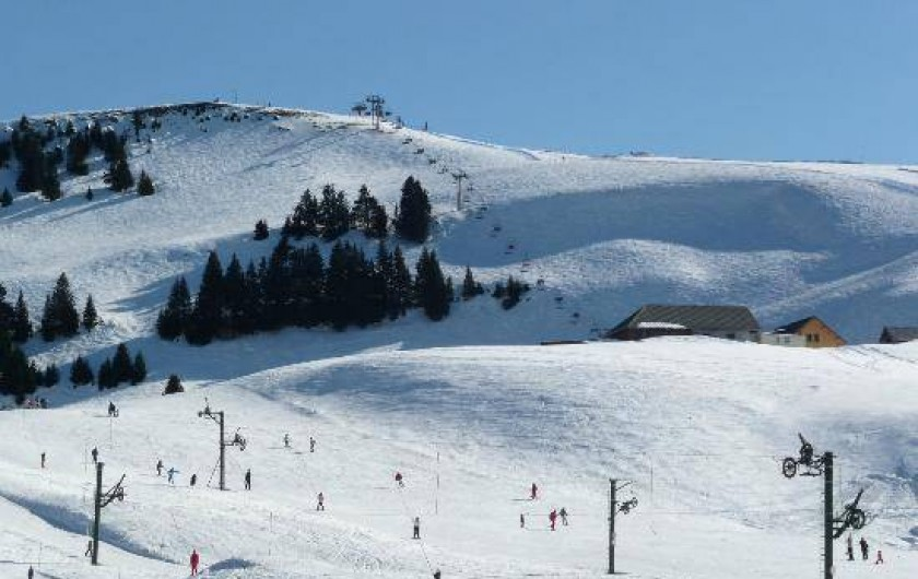 Location de vacances - Villa à Annecy - Le Semnoz en hiver pour le ski - randonnée raquettes