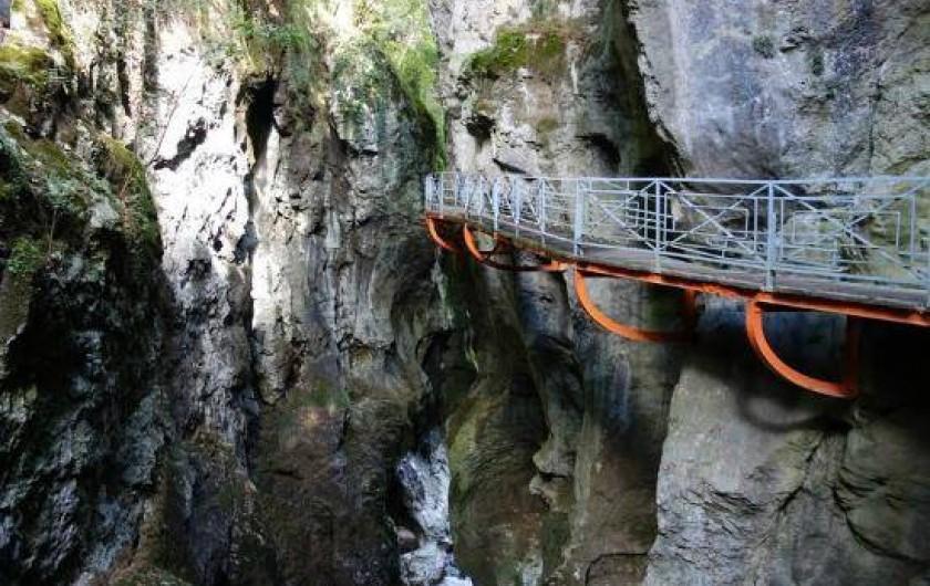 Location de vacances - Villa à Annecy - A visiter Les Gorges du Fier