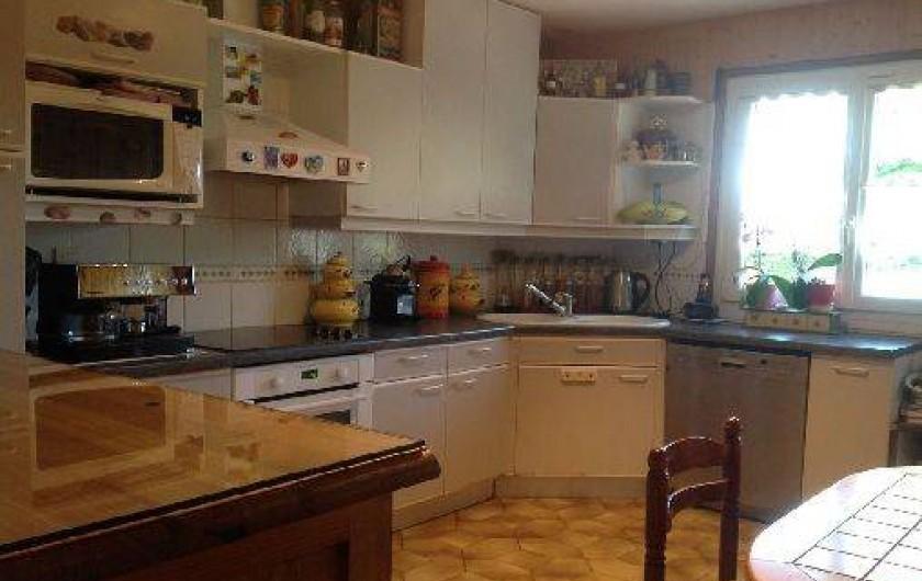 Location de vacances - Villa à Annecy - Cuisine toute équipée