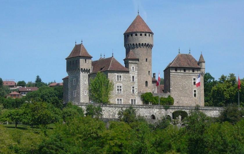 Location de vacances - Villa à Annecy - Le Château de Montrottier