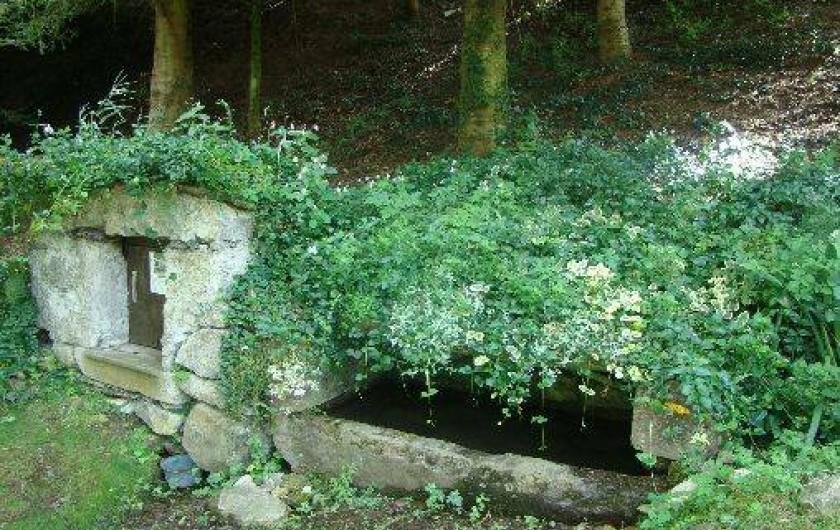 """Location de vacances - Gîte à Bun - """"LE COUMET"""" (ancien  réfrigérateur) aux abords du village"""