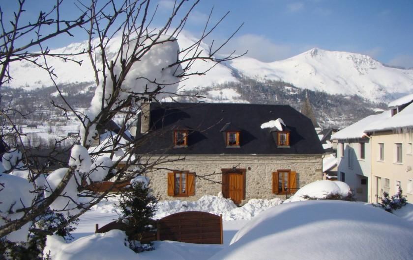 Location de vacances - Gîte à Bun - LE GÎTE  sous la neige