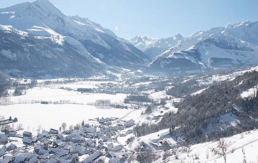 Location de vacances - Gîte à Bun - LE VAL D'AZUN  sous la neige