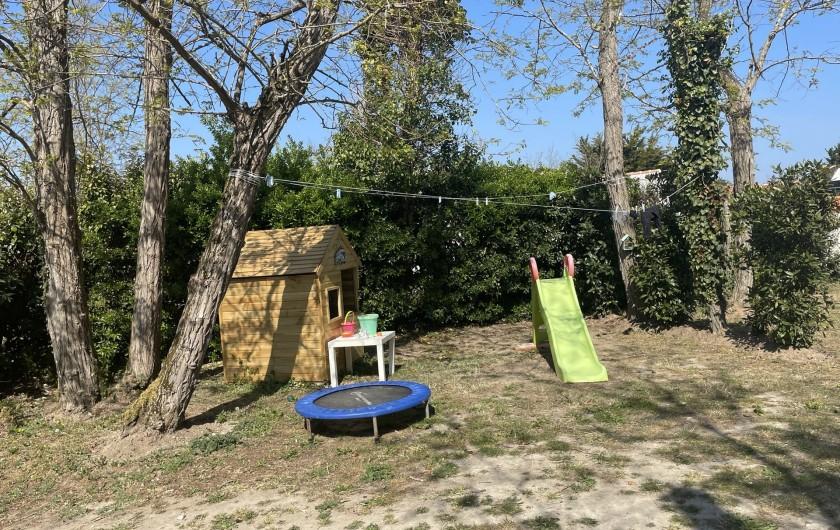 Location de vacances - Villa à La Brée-les-Bains - Espace kids