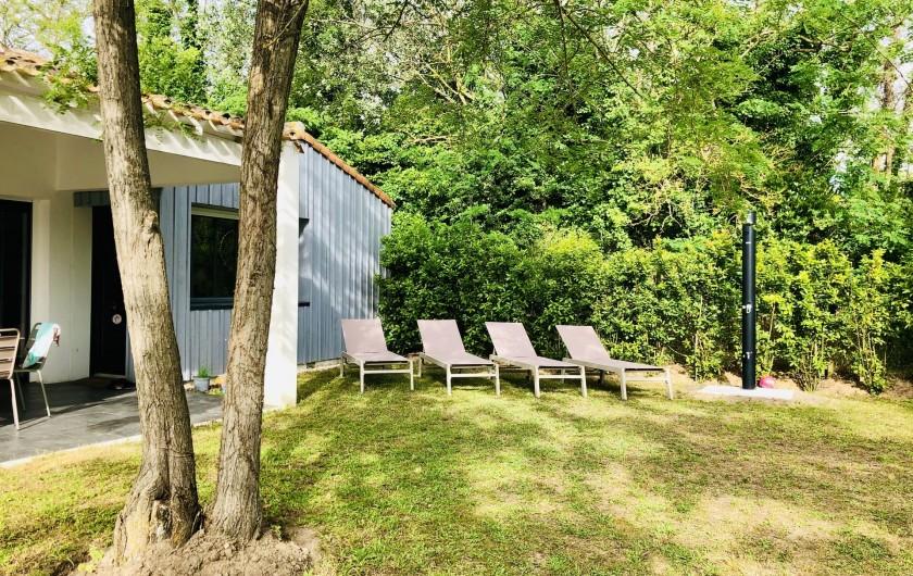 Location de vacances - Villa à La Brée-les-Bains - Transats à disposition