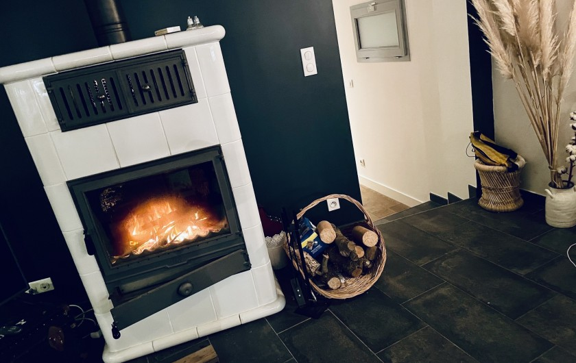 Location de vacances - Villa à La Brée-les-Bains - Cheminée disponible. A nettoyer avant le départ.