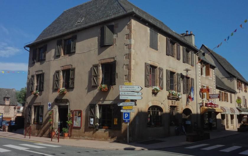 Location de vacances - Gîte à Saint-Cyprien-sur-Dourdou - Mairie de Saint Cyprien