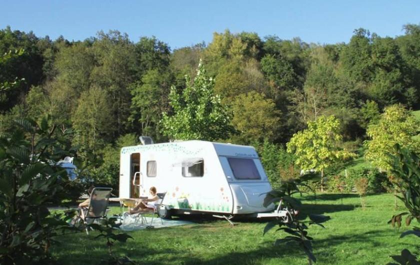 Location de vacances - Camping à La Bastide-de-Sérou