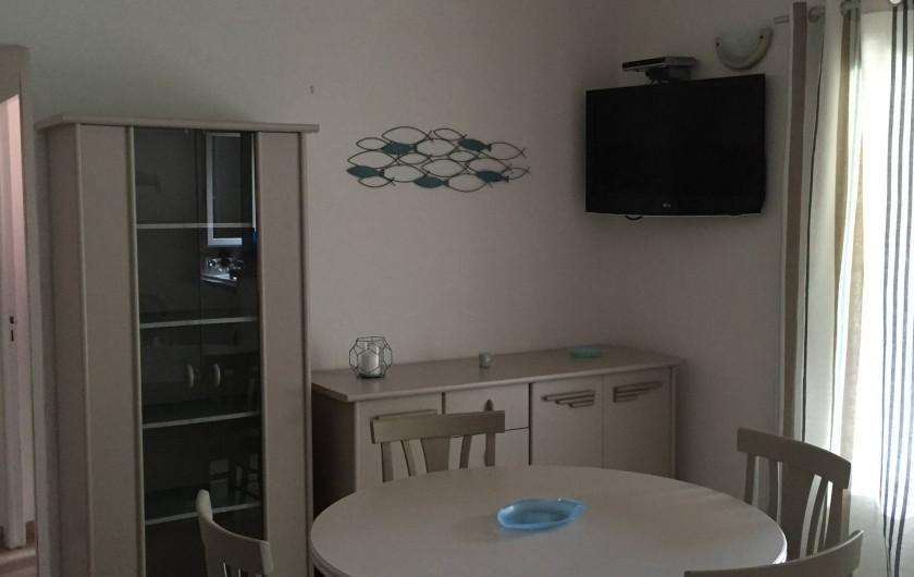 Location de vacances - Villa à Porto-Vecchio - SALON TV ECRAN PLAT