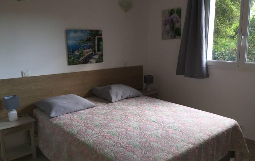 Location de vacances - Villa à Porto-Vecchio - CHAMBRE UN LIT EN 160