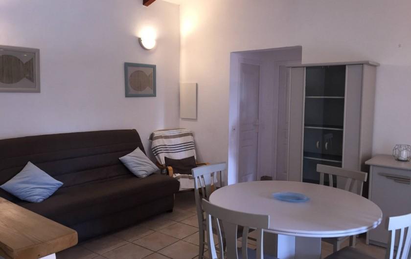 Location de vacances - Villa à Porto-Vecchio - SALON