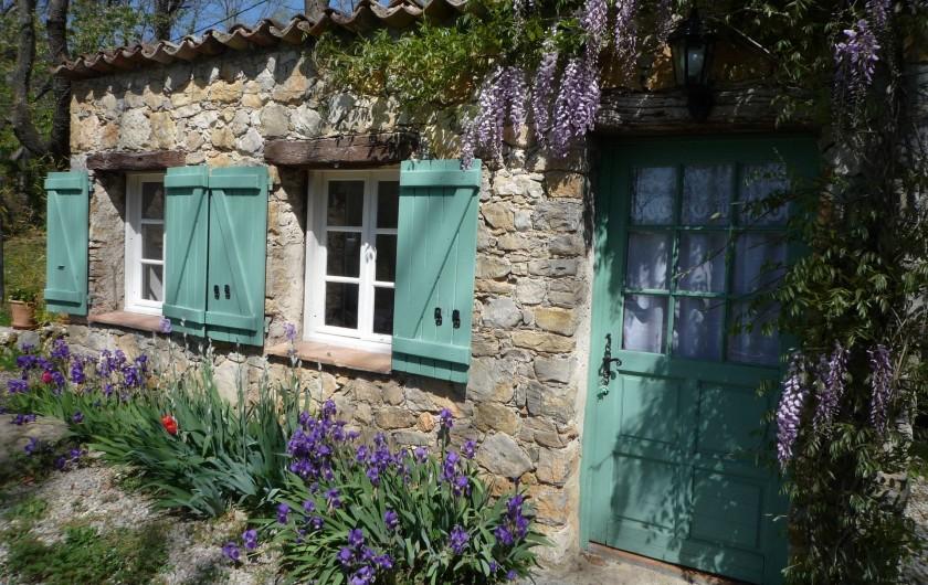 Location de vacances - Chambre d'hôtes à Montauroux - Chambre Mousson