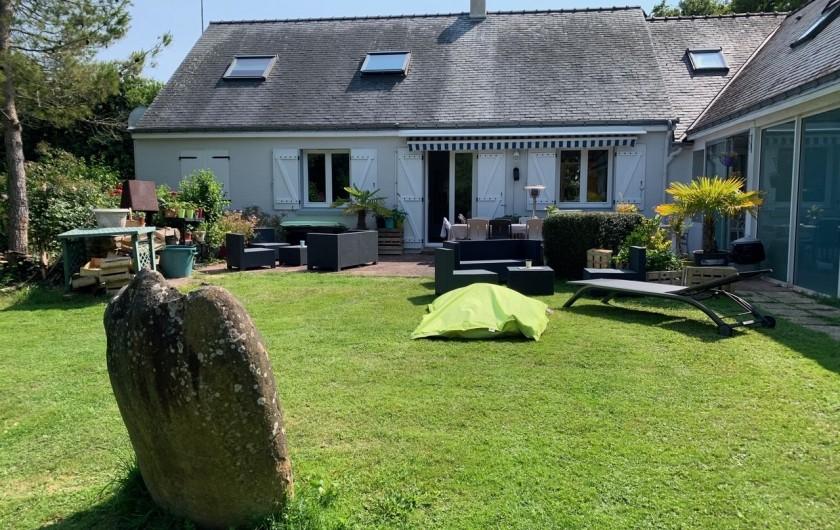Location de vacances - Chambre d'hôtes à Mesquer - terrasse vue 2020