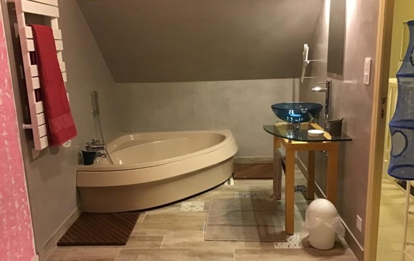 Location de vacances - Chambre d'hôtes à Mesquer - salle de bain tengo  saison 2020