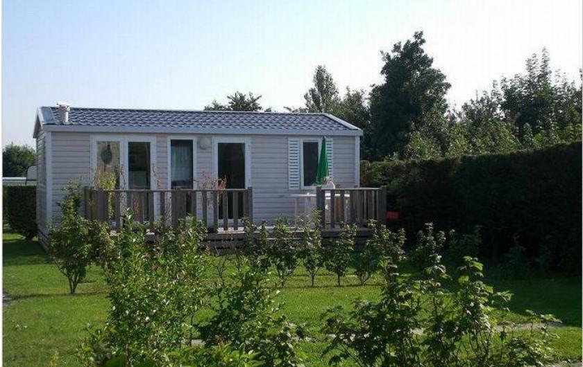 Location de vacances - Bungalow - Mobilhome à Verlincthun - mobil home  dans camping calme, verdoyant , campagne et mer proche Hardelot.