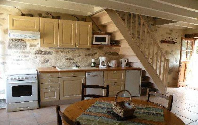 Location de vacances - Maison - Villa à Plouër-sur-Rance - coin cuisine