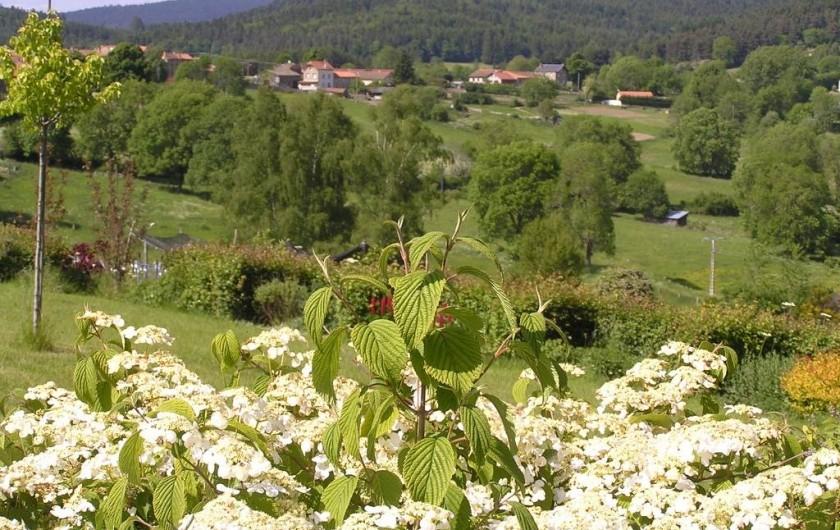 Location de vacances - Gîte à Champagnac-le-Vieux - Vue sur le village