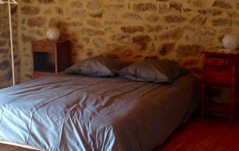 Location de vacances - Gîte à Champagnac-le-Vieux - Chambre sur mezzanine