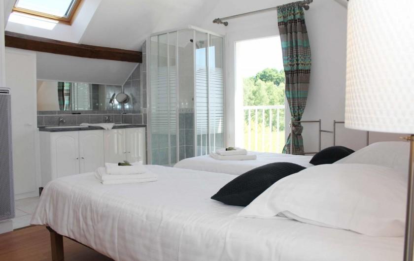 Location de vacances - Gîte à Varennes-Changy - Chambre 2