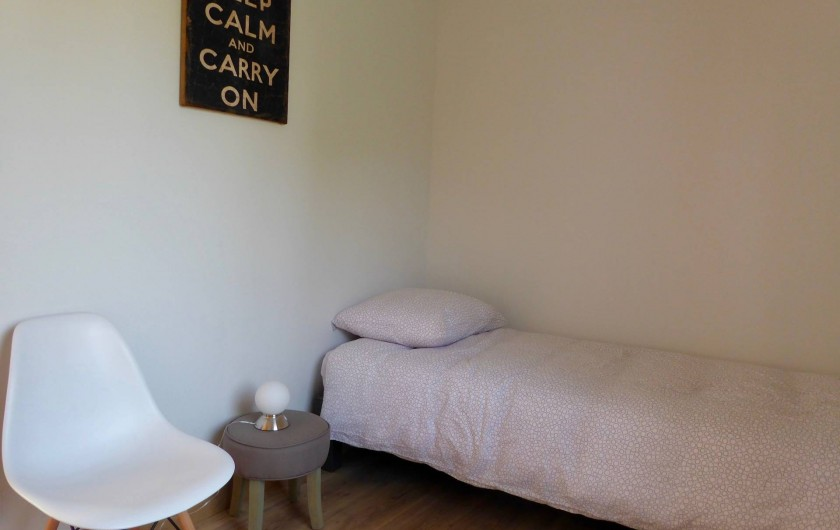 Location de vacances - Maison - Villa à Azincourt - Chambre 2 - 1 lit au rez-de-chaussée