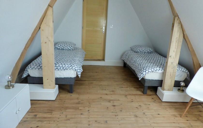 Location de vacances - Maison - Villa à Azincourt - Chambre 4 - 2 lits au 1er étage