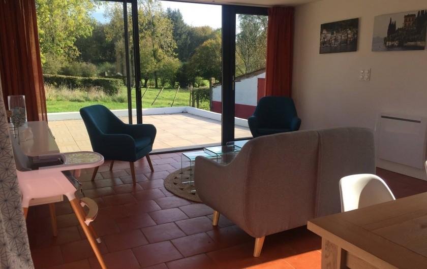 Location de vacances - Maison - Villa à Azincourt - Vue salon