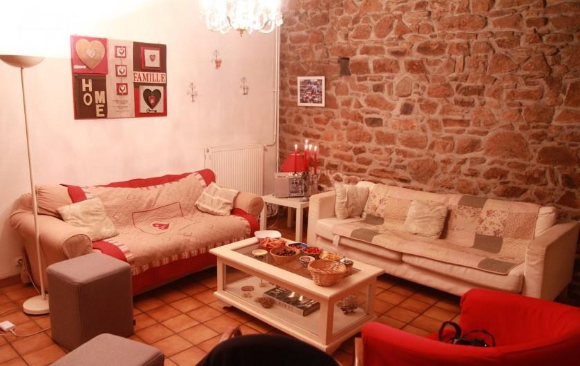 Location de vacances - Gîte à Goudelin - Salon
